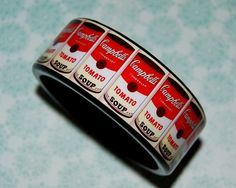 Campbell's Soup Can Bracelet
