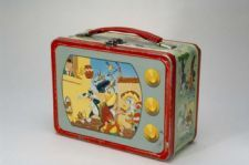 """Looney Tunes"" Lunch Box: ""Looney Tunes"" were originally shorts that ran before feature films from 1930-1969, but have since been repackaged into a variety of television shows. ""Looney Tunes"" has given us some of cartoons most iconic characters, such as Bugs Bunny, Daffy Duck, Porky Pig, Wile E. Coyote and Road Runner."