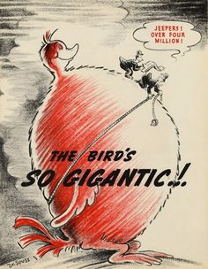 Dr. Seuss as advertiser