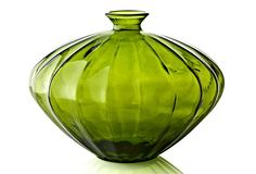 "Sits in pagoda chest  10.5"" Vase, Green on OneKingsLane.com#onekingslane  #designisneverdone"