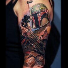 Nikko Hurtado - Boba Fett « Tattoo Art Project