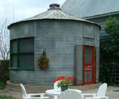 TINY FARM SILO HOUSE!