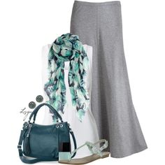 """Spring Teal"" by lagu on Polyvore"
