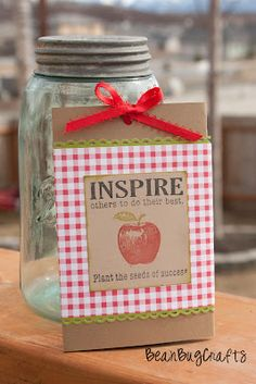 Flower seed packet gift