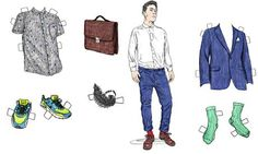Even the word fashion is enough to make some men break out in an unsightly rash. Illustration: David Sparshott for the Guardian