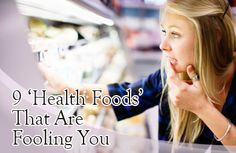 9 Foods You Think are Healthy but Aren't Slideshow