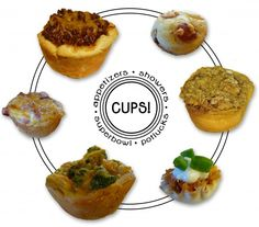"A slew of recipes for ""cup"" appetizers (like Broccoli Chicken Cups or Chicken Taco Cups)"