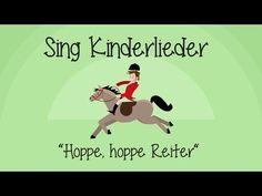 ▶ Hoppe, hoppe Reiter - Kinderlieder zum Mitsingen - YouTube