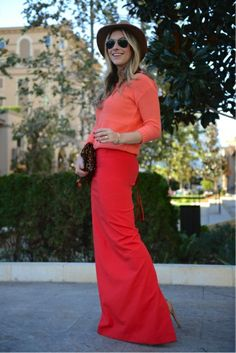 try bright on bright: there's no shame in pairing together your favorite hues for spring #fashion #color