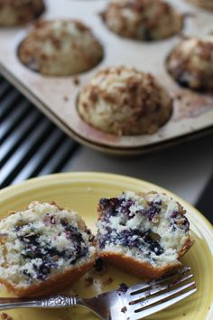 Cake-Like Blueberry Muffins