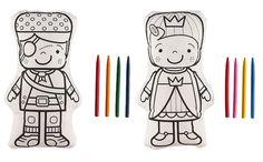 Heel veel leuke nieuwe knutselspullen online. Zoals deze pop die je zelf kunt inkleuren. Deze en meer leuke knutselideeen voor kinderen vind je op ZOOK.nl #knutselen #kids
