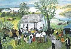 Moving Day -Grandma Moses