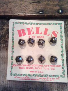 Jingle Bells / 1940s by Lauralous on Etsy, $5.00