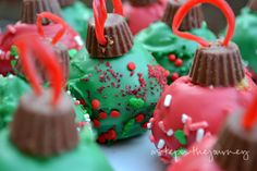 A Step in the Journey: Ornament Cake Balls