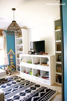 playroom | the handmade home