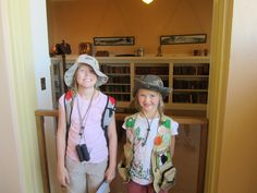 Our Junior Rangers at Jerome State Park state parks