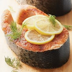 We are crazy for the spice rub that goes on these Salmon Steaks with Smoky Sweet Spice Rub. You might find yourself using it on chicken and pork as well.