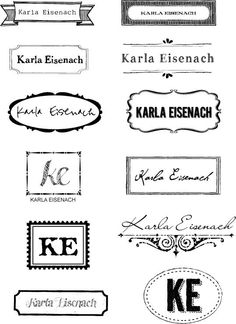 Personalized Iron On Labels