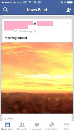 This person's reaction to a sunrise: | The 33 Dumbest Things That Happened In 2013