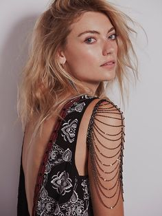 Free People Draped Shoulder Chain, $138.00
