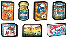 Wacky Packs closet doors, memori, blast, candi, wacki packag, sticker, bedrooms, bubble gum, collect