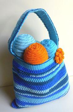 Scrap-Tastic Bag Part 1 of 2 Crochet Tutorial