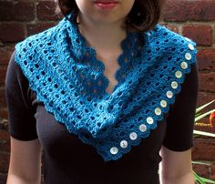 Multiplicity Lace Shawl by Esther Chandler - free crochet pattern