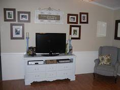 {Craftify It}: Dresser to TV Stand Tutorial