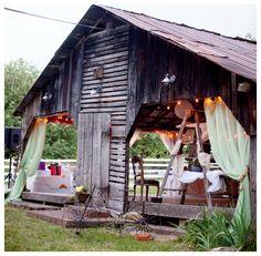 Vintage Style Barn Wedding
