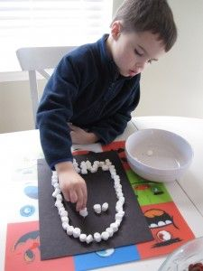 kids halloween craft #Halloween #Toddler #Preschool #Kids #craft