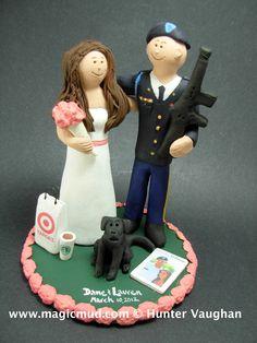 U.S. Army Groom Military Wedding Cake Topper http://www.magicmud.com    1 800 231 9814  magicmud@magicmud.com $235  https://twitter.com/caketoppers         https://www.facebook.com/PersonalizedWeddingCakeToppers   #wedding #cake #toppers #custom #personalized #Groom #bride #anniversary #birthday#weddingcaketoppers#cake-toppers#figurine#gift#wedding-cake-toppers #military#marine#soldier#army#navy#airForce#USA#m16#camo#dressBlues#uniform#paratrooper