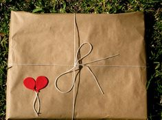 love this brown paper package tied up with string!