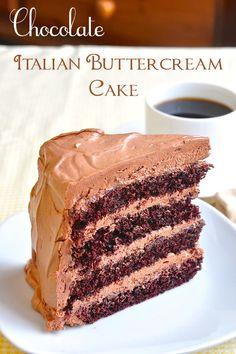 Chocolate Buttercream Cake - Rock Recipes