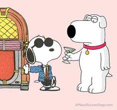 Snoopy & Brian