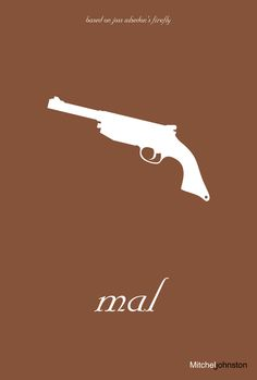 Firefly Minimalist Posters by Mitchell Johnston, via Behance