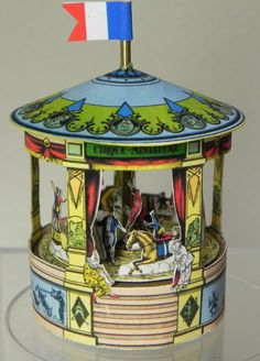 French Carousel by AngelikasMinis on Etsy, $38.00