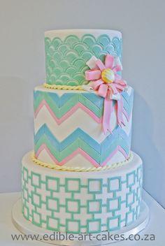 Aubergine & Black Gothic Wedding Cake for Cake Central Magazine — Round Wedding Cakes