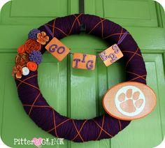 Clemson Tigers wreath!!!