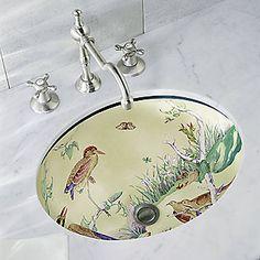 Kallista for Mottahedeh Water Birds sink bird sink, water bird