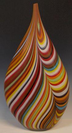 Verre de Murano - Vase - Afro Celotto