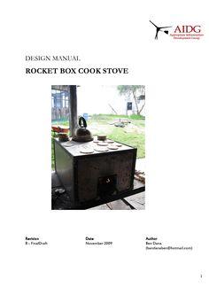 Rocket Box Stove