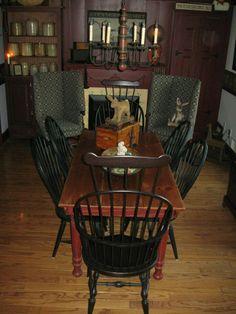 Wonderful colonial room