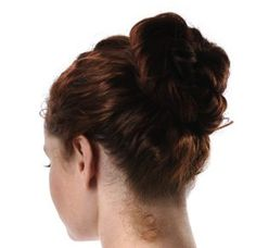 Hair Buns are super comfortable to wear and if you are working it keeps the hair out of your face. Double knots, messy buns, side buns, donut buns.. There's always a new style!