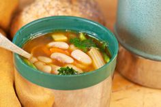 Homemade minstrone soup lunch - Thermos, Ahoy! 15 Yummy Hot Lunch Ideas for Kids - ParentMap
