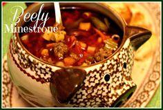 Sweet Tea and Cornbread: Beefy Minestrone!