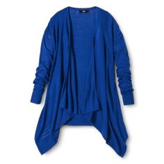 Mossimo® Women's Waterfall Cardigan - Assorted Colors