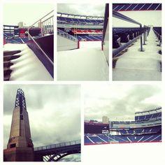 Just a little Gillette Stadium snow collage...