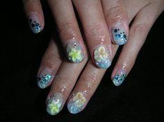 Hawaiian Nails @Lindsay Duff Hoffman