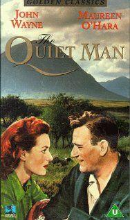 The Quiet man. John Wayne and Maureen O'Hara.