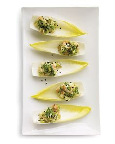 Shrimp and Avocado Salad on Endive Leaves Recipe